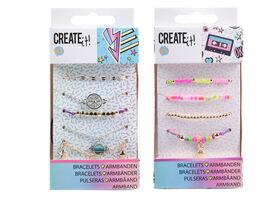 CREATE IT! Bracelets Multi Beads & Galaxy