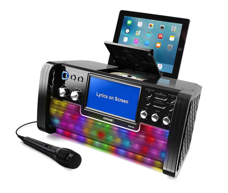 iKARAOKE Bluetooth CD+G Karaoke System  044393