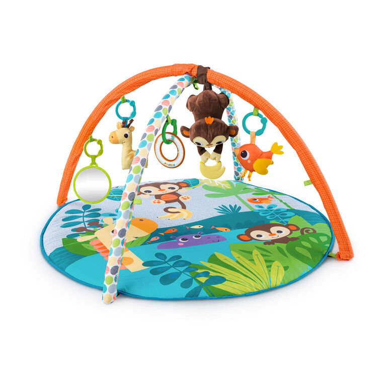 Bright Starts Monkey Business Musical Activity Gym