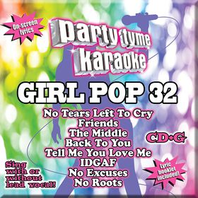 CD-Karaoke Girl Pop 32