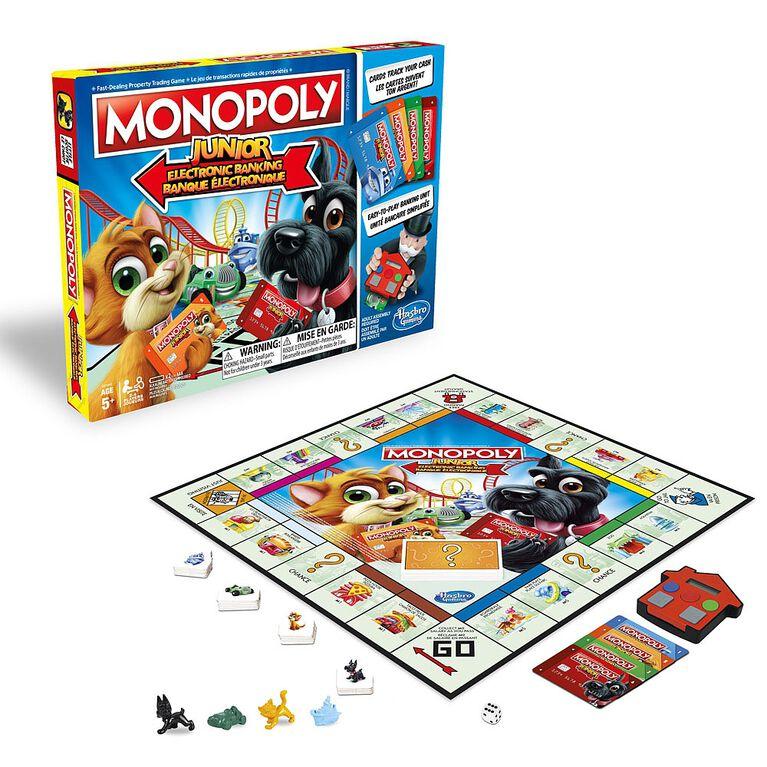 Hasbro Gaming - Monopoly Junior Electronic Banking