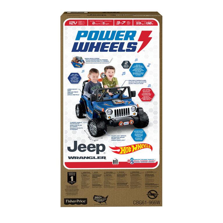 Fisher-Price Power Wheels Hot Wheels Jeep Wrangler