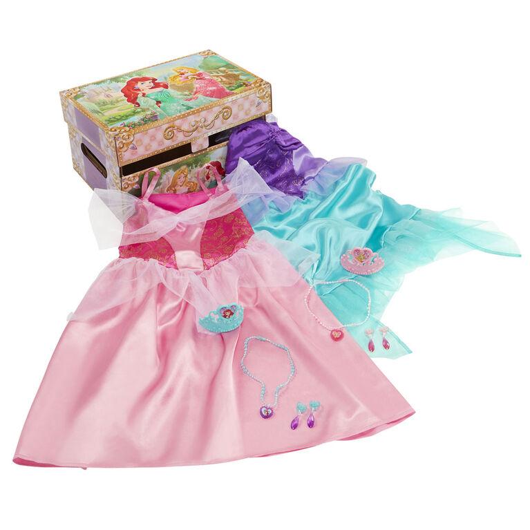 Disney Princess Ariel et Aurora Habillez Trunk Pretend Play Jouets.
