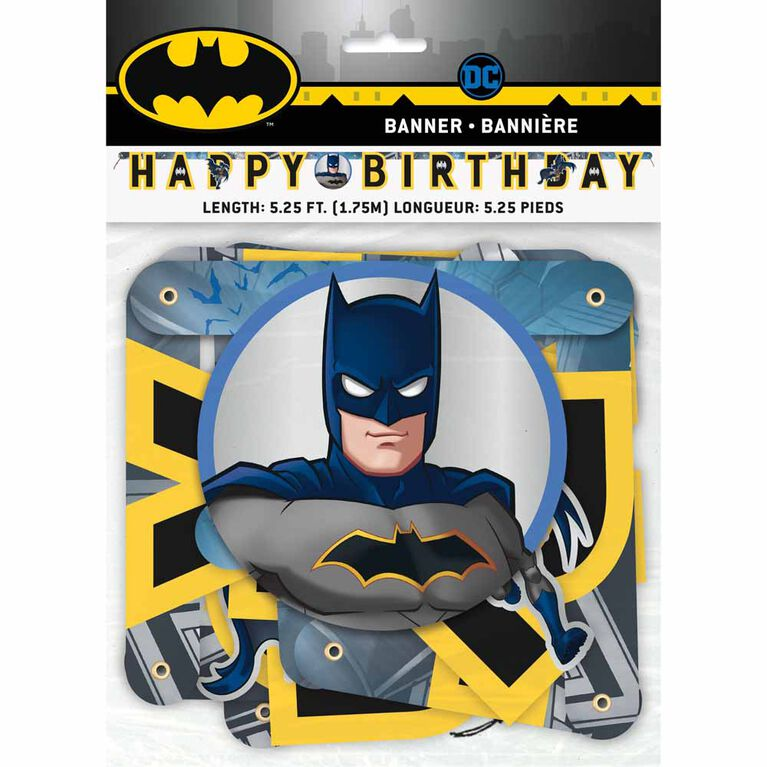 Batman Large Jointed Banner - English Edition