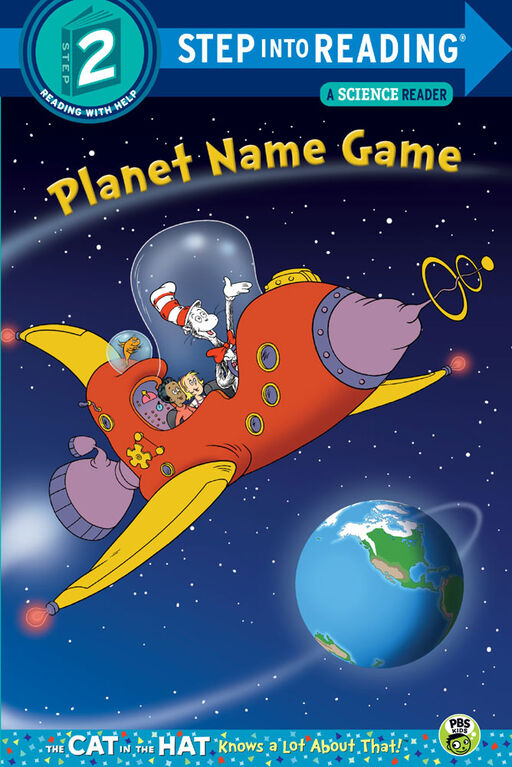 Planet Name Game (Dr. Seuss/Cat in the Hat) - English Edition