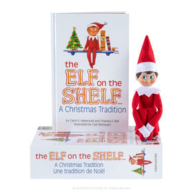 The Elf on the Shelf: A Christmas Tradition - Boy Light - English Edition