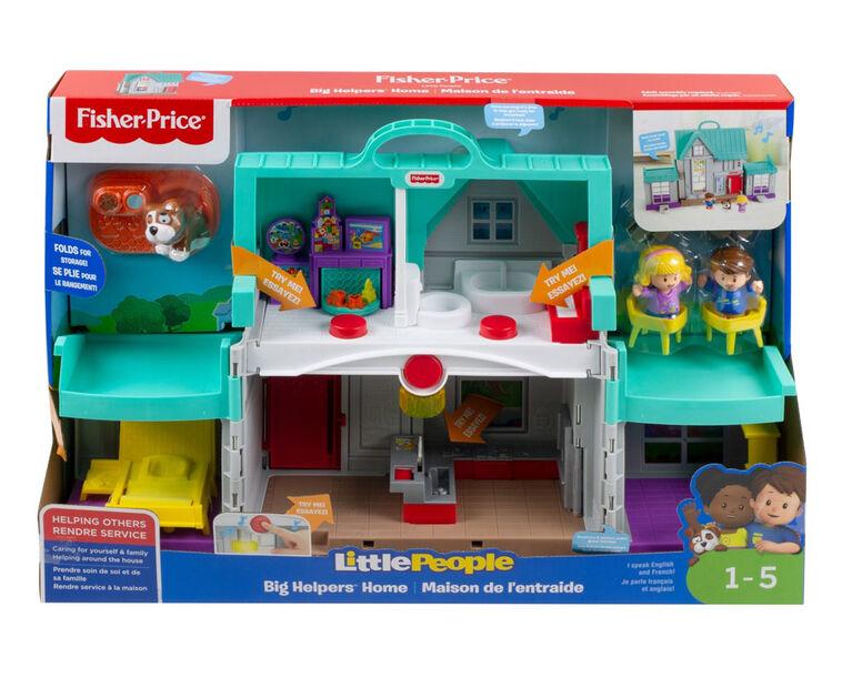 Fisher-Price - Little People - Maison de l'entraide - Édition bilingue