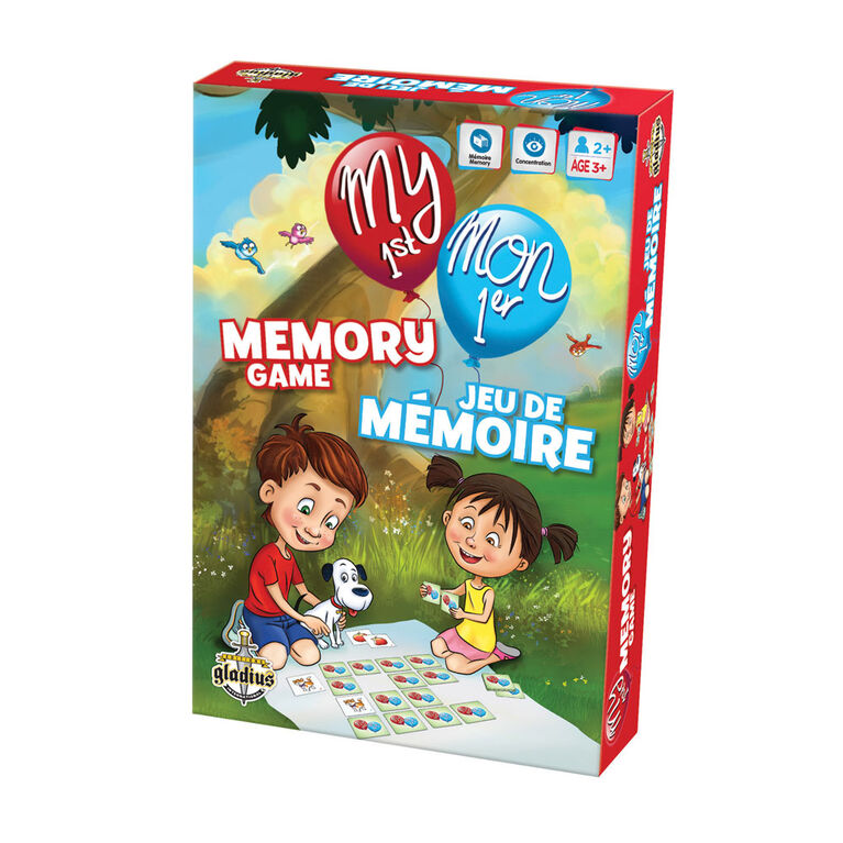 My 1st Memory Game - French Edition