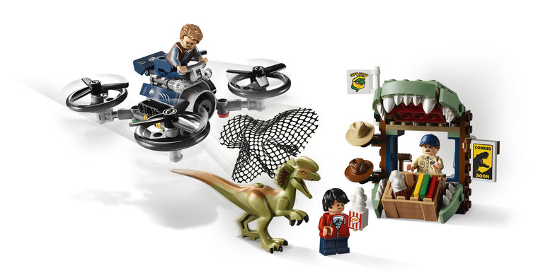 LEGO Jurassic World Dilophosaurus on the Loose 75934