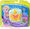Polly Pocket Hidden Hideouts Flutterrific Forest