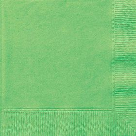 Lime Green Luncheon Napkins 20 pieces