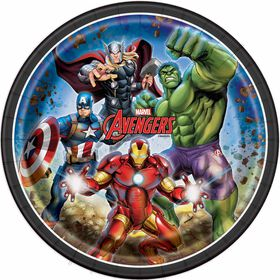 Avenger Assiettes 9po, 8un