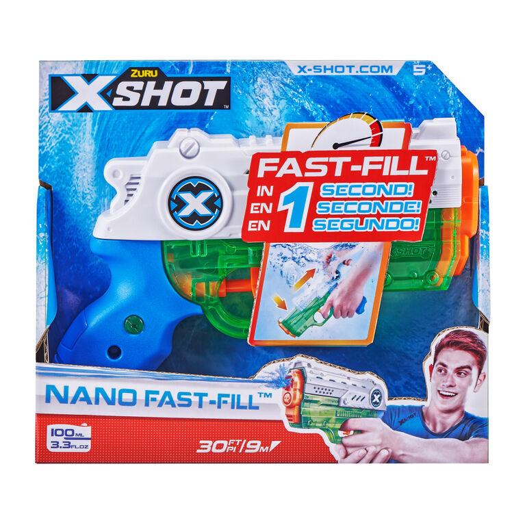 Nano à remplissage rapide Guerre d'eau X-Shot par ZURU