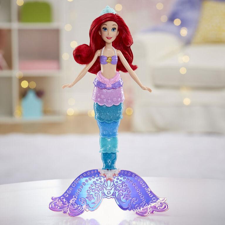 Disney Princess Rainbow Reveal Ariel, Color Change Doll