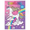 Dreamtivity Unicorn w Glitter Stickers - English Edition