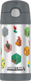Minecraft Thermos Funtainer Water Bottle 355 ml