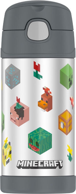 Bouteille Funtainer de Thermos, Minecraft, 355ml