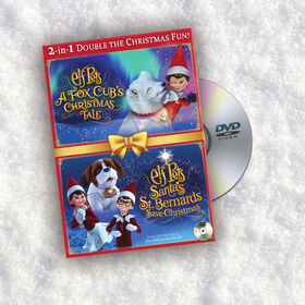 Elf on the Shelf - Elf Pets Fox Cub and St Bernard Animated Specials Dual DVD