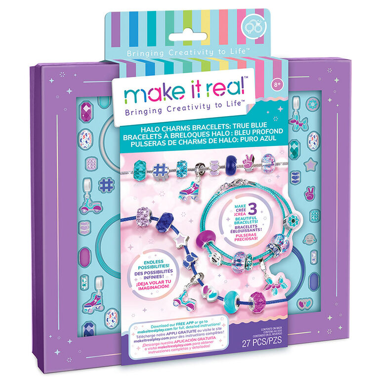 Make It Real Bracelet Halo Breloques