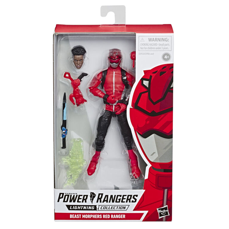 Power Rangers Beast Morphers Red Ranger Action Figure - English Edition
