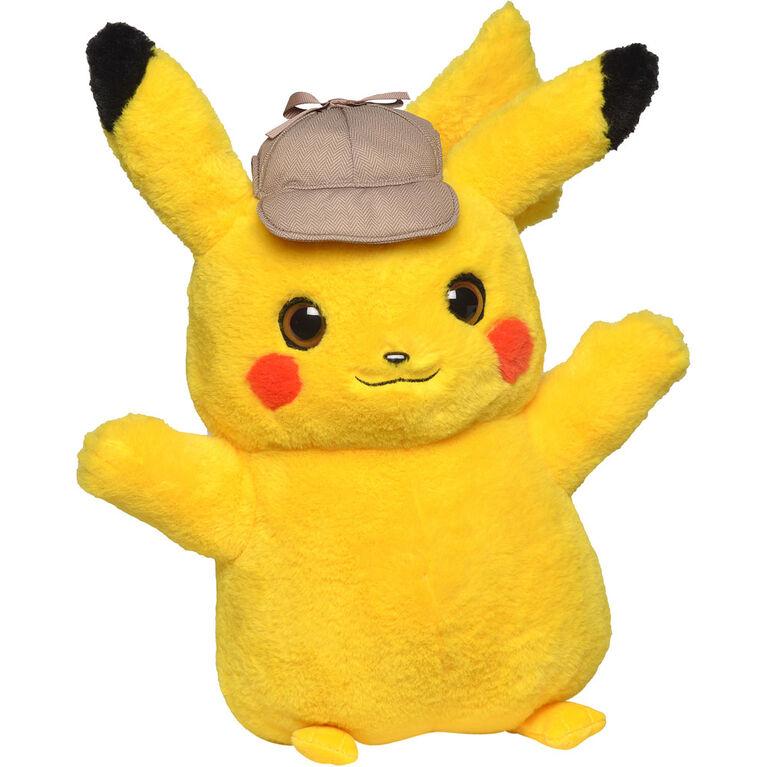 Peluche de 16cm Pokémon Détective Pikachu. - Notre Exclusivité