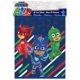 PJ Masks Loot Bags, 8 pieces