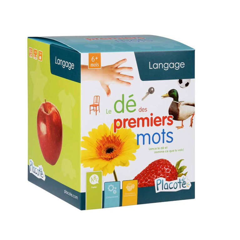 Placote - My First Words - educational game - French Edition