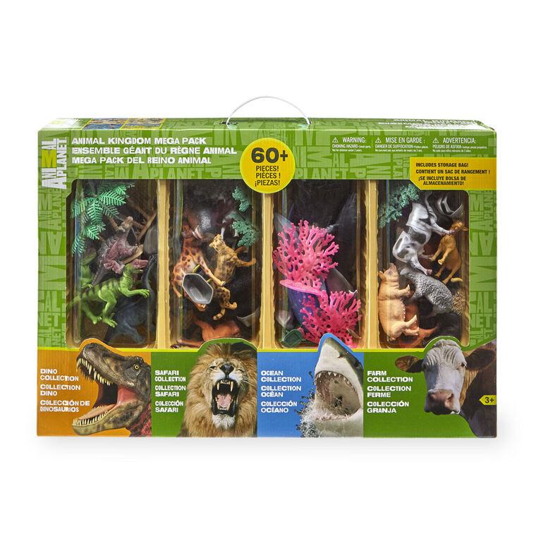 Animal Planet - Animal Kingdom Mega Pack Playset - 60 Pieces - R Exclusive