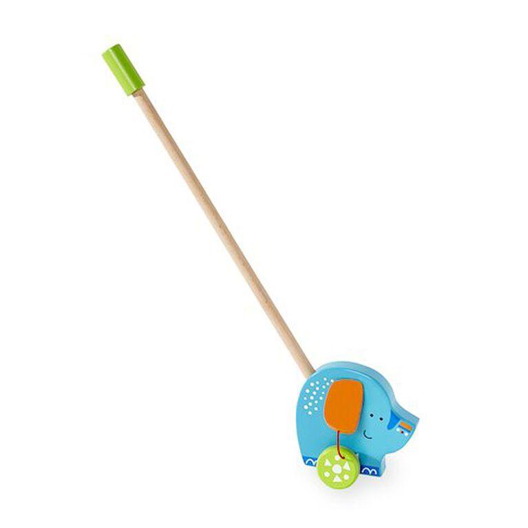 Imaginarium Wooden Push Toy - Elephant