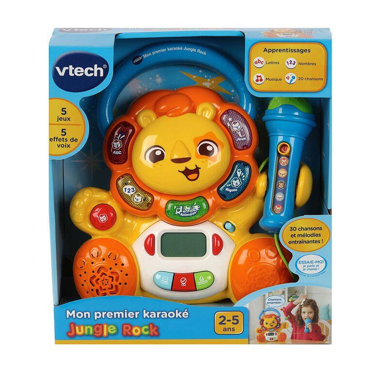 VTech Zoo Jamz Rock & Roar Karaoke - French Edition
