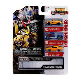 Nano Hollywood Rides 3-Pack Diecast - Transformers