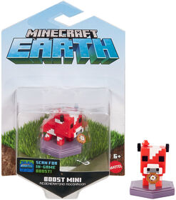 Minecraft - Earth - Figurine Boost - Champimeuh Avec Ragoût