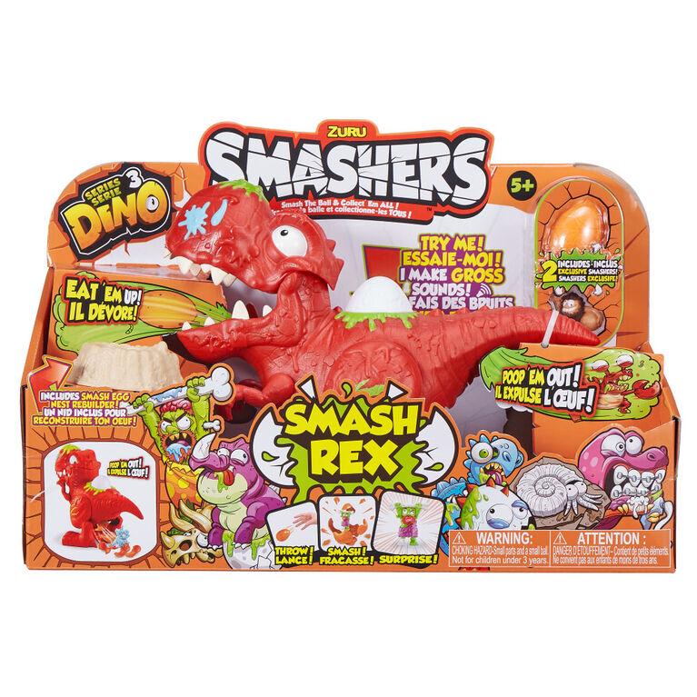 Zuru Smashers Series 3: Smash Rex Playset - R Exclusive
