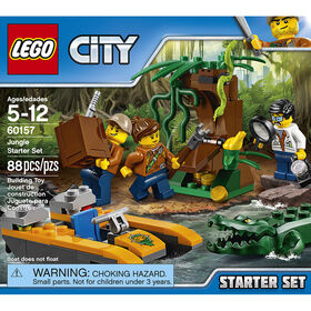 LEGO City Jungle Explorers Ensemble de départ de la jungle 60157