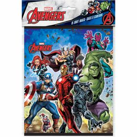Avengers Loot Bags, 8 pieces