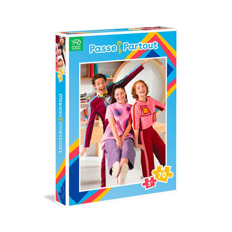 Passe-Partout - Pz70 Les 3 Passes  - French Edition