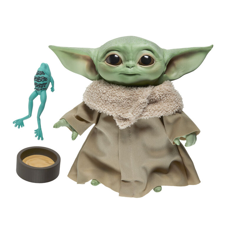 Star Wars The Child Talking Plush Toy with Character Sounds and Accessories