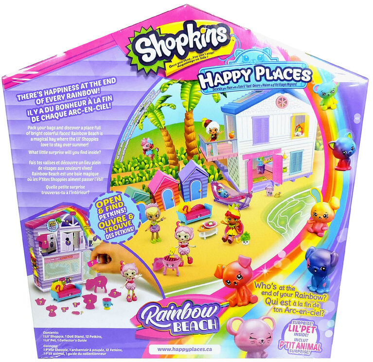 Paquet Surprise Surprends-Moi Shopkins Happy Places - BBQ Party.