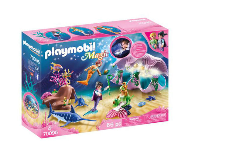 Playmobil Peal Shell Nighlight 70095