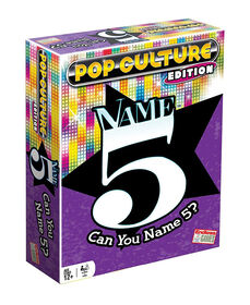 Endless Games - Name 5 Game (Pop Culture Edition)