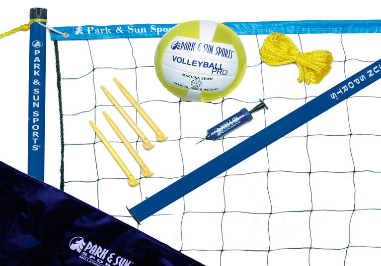 """Park & Sun - """"Volley Sport"""" Volleyball Set - English Edition"""