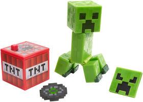 Minecraft Comic Maker Creeper Action Figure - English Edition