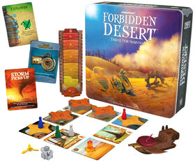Gamewright - Forbidden Desert Jeu