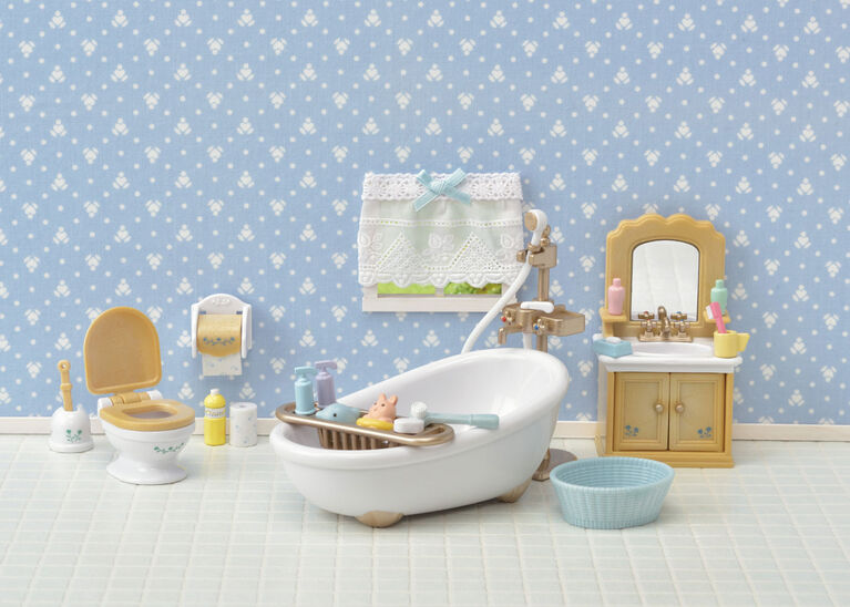 Calico Critters - Country Bathroom Set