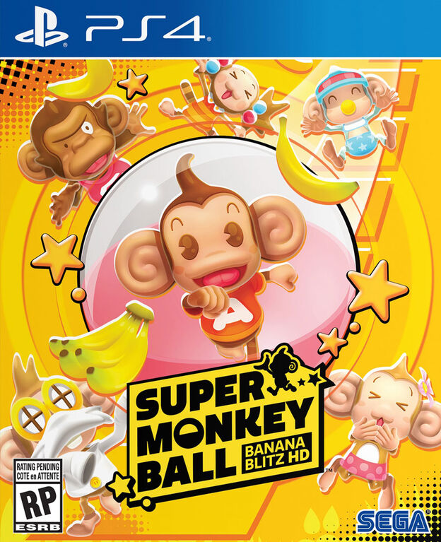 PlayStation 4 Super Monkey Ball Banana Blitz.