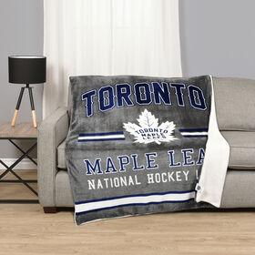 NHL Team Throw - Toronto Maple Leafs
