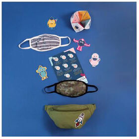 kidcare - Face Mask & Fanny Pack Kit - Camouflage