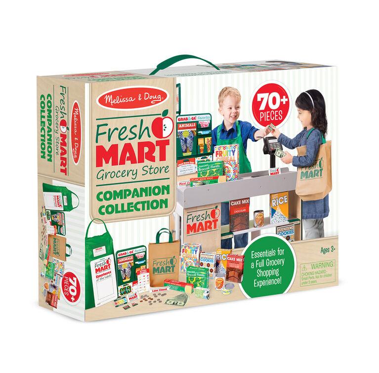 Melissa & Doug - Fresh Mart Grocery Store Companion Set