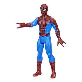 Hasbro Marvel Legends Series, figurine de collection retro Spider-Man de 9,5 cm
