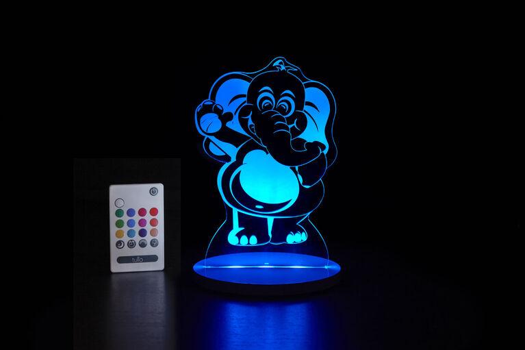 Lumière de nuit Tulio Dream Light - L'éléphant